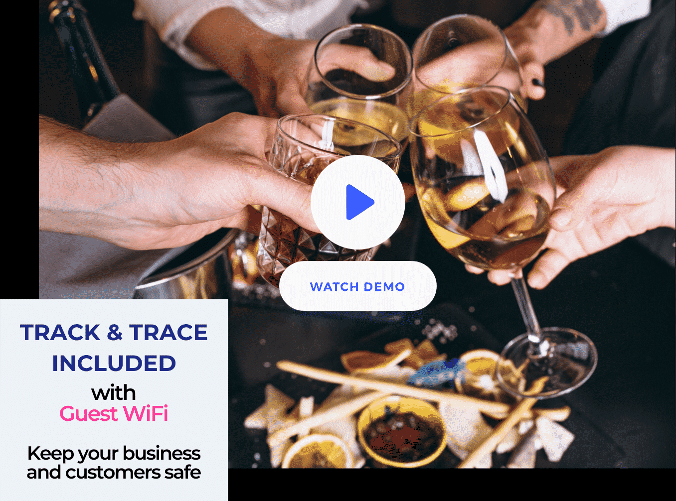 track and trace for sensational drinks