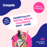 Social Media Calendar May - June 2021