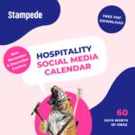 November December 2021 social media calendar