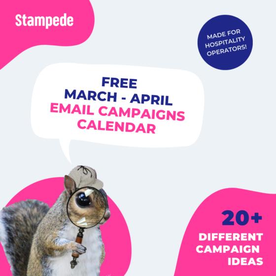 Email Campaign Calendar square