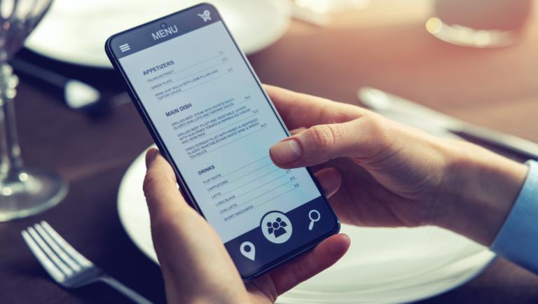Digital Menu App