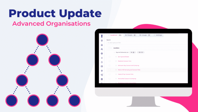 product update-organisations allowing for better control of users and locations within Stampede