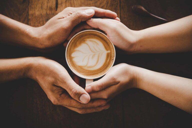 hands cup